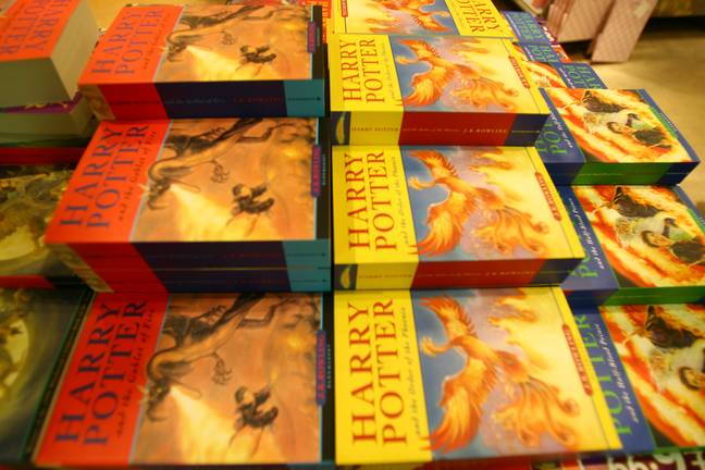 Harry Potter books (PA Images)