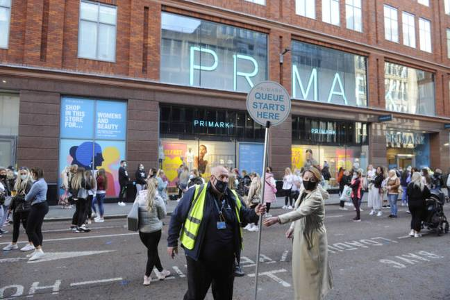 Primark (PA Images)