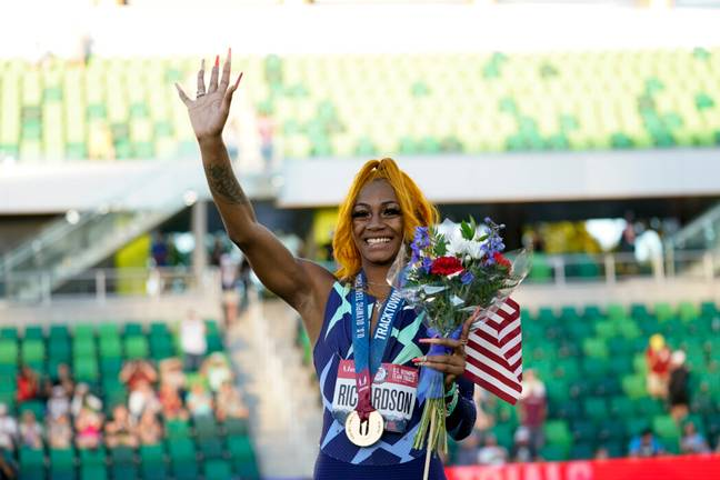 She'Carri Richardson received a 30 day ban for positive marijuana test (PA Images)