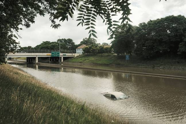 Floods are expected to increase in the 2030s. (PA Images)
