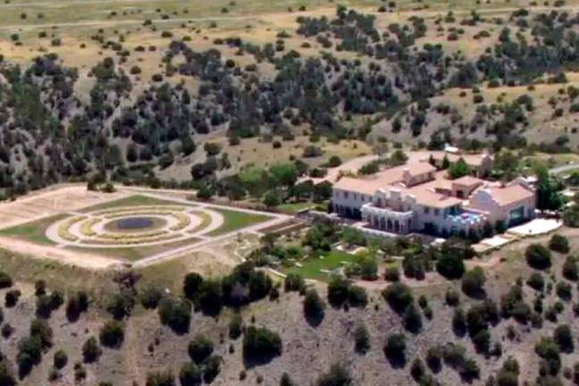 Jeffrey Epstein's Zorro Ranch listed for $20 million (PA Images)