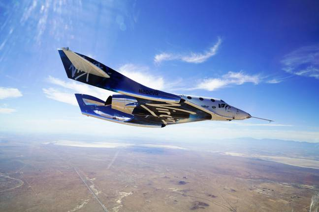 Virgin Galactic's Unity 22 successfully takes Richard Branson to space (PA Images)