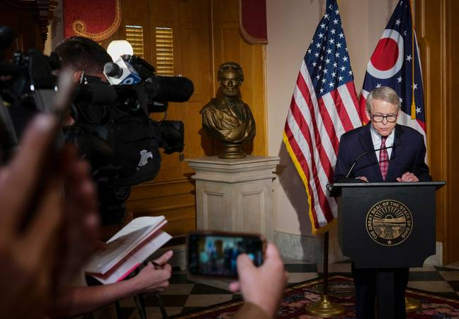 Ohio Governor Mike DeWine. (PA Images)