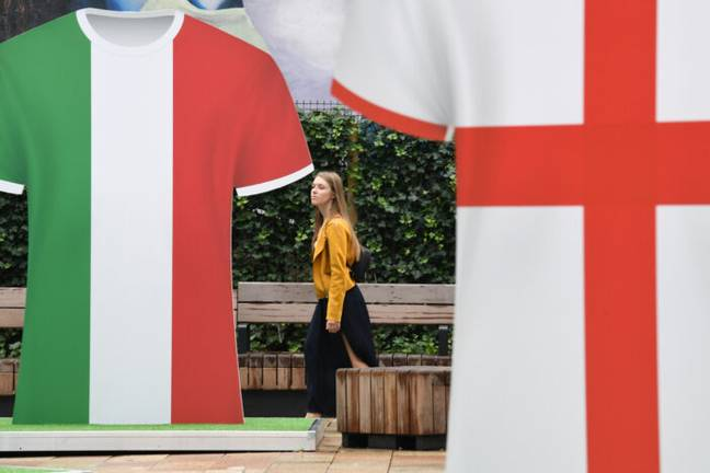 England Italy (PA Images)