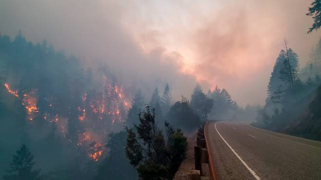 Oregon Wildfires (PA Images)
