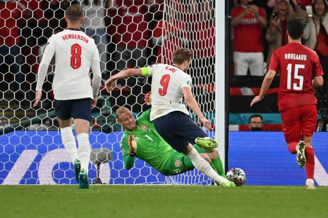 Harry Kane missed the initial penalty but scored the rebound (PA Images)