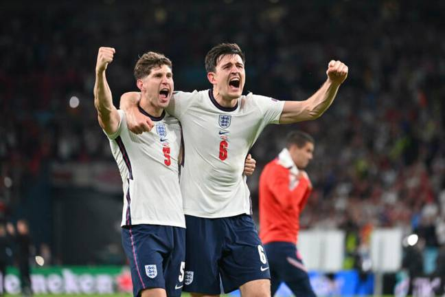 john Stones and Harry Maguire (PA)