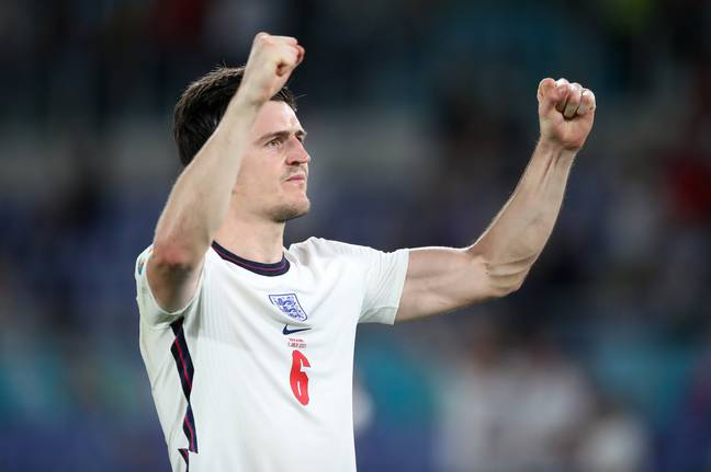 England defender Harry Maguire. (PA Images)