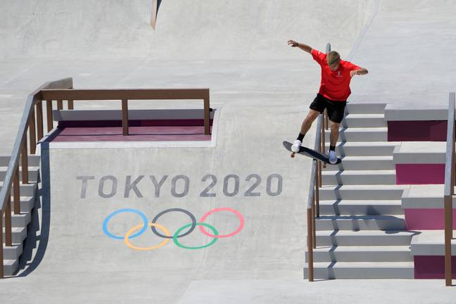 Angelo Caro Narvaez at the Olympics (PA Images)