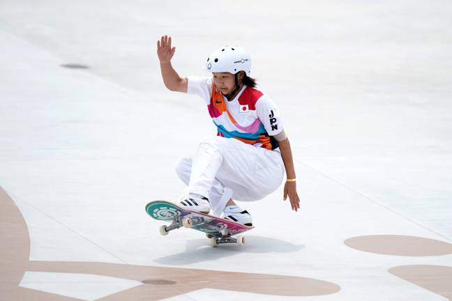 All three women's street skateboarding medalists are teenagers (PA Images)