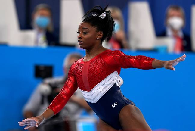 Simone Biles withdrew from competition to protect her mental health (PA Images)
