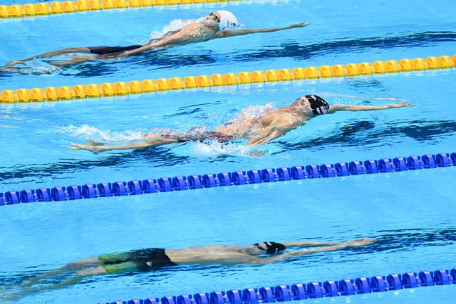 Russian swimmer wins Olympic gold medal (PA Images)