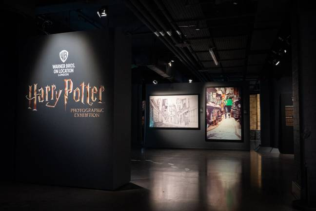 The exhibition opens in Covent Garden this week (Harry Potter Photographic Exhibition)