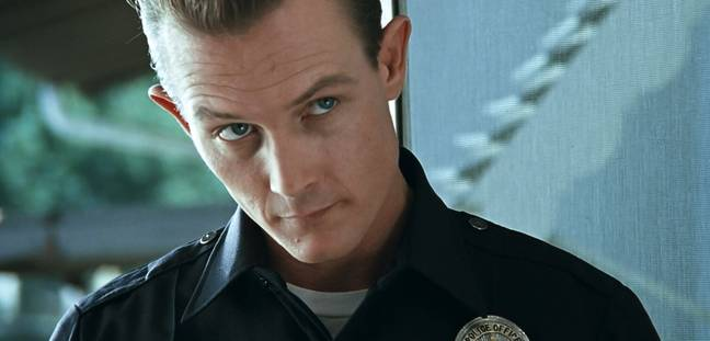 Robert Patrick as the T-1000. (Tri-Star Pictures)
