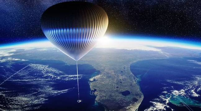 Space Perspective balloon (Space Perspective)