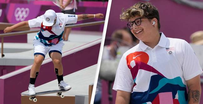 Outrage After Commentator Misgenders First Ever Openly Non-Binary Olympian