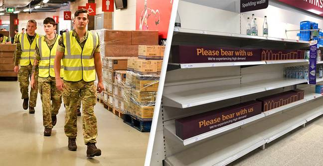 Army On Standby As 20% Of Food Chain Workers Self-Isolate