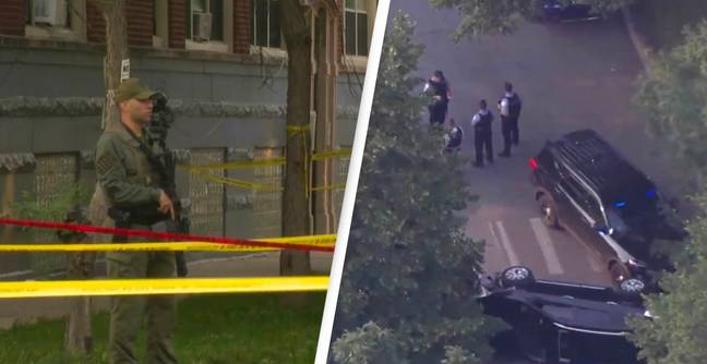 Boy Killed And Nine Wounded In Two Chicago Shootings Five Mins Apart