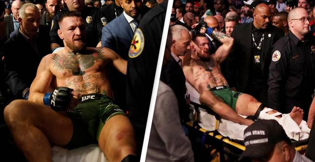 Conor McGregor Forced To Undergo Surgery After Horrific Injury At UFC 264