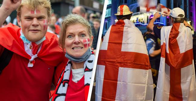Danish Fans Claim To Have Been Attacked By England Supporters After Semi-Final