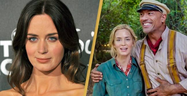 Emily Blunt Responds After The Rock Publicly Outs Her For Ghosting Him