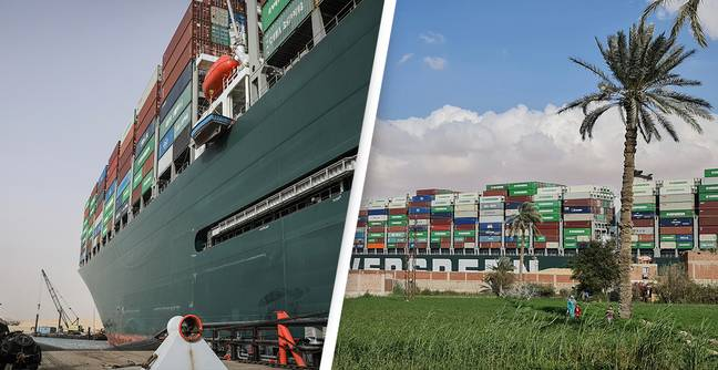 Ever Given Finally Unloads At Its Destination Four Months After Getting Stuck In Suez Canal