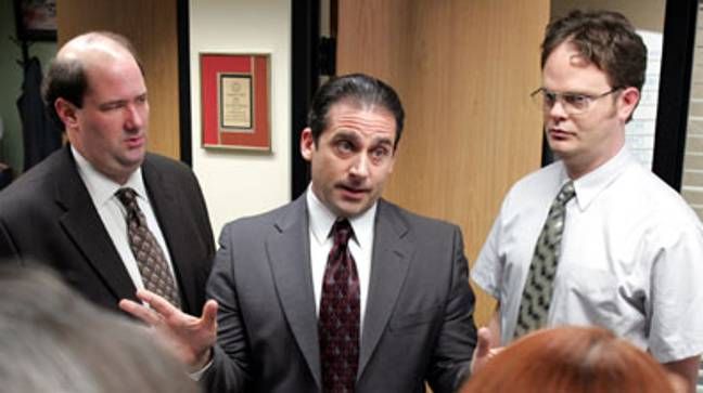 Still from The Office (NBCUniversal Television Distribution)