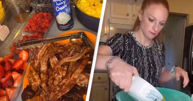 Mother Of 10 Shares Just How Much Food She Needs To Cook For One Meal