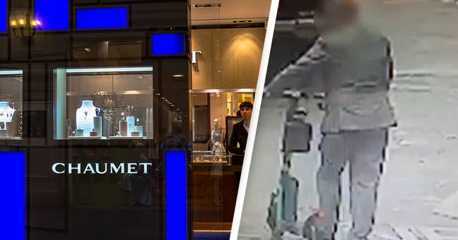 Police Hunting For Thief Who Stole €3M Worth Of Jewels Before Escaping On Scooter