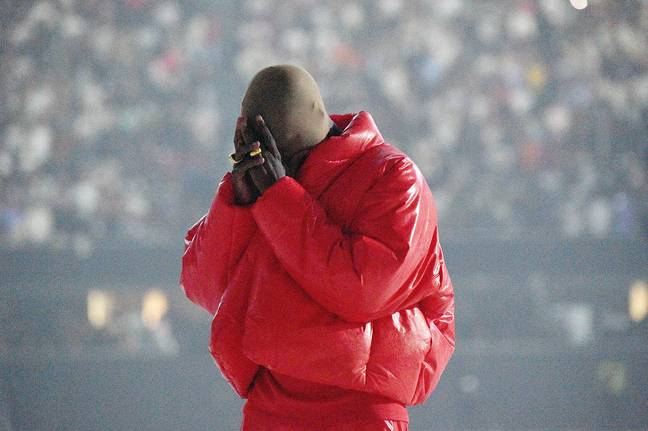 Kanye West Breaks Down In Tears As He Says He's 'Losing His Family' On New Track (Getty)