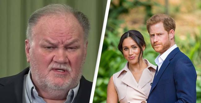 Meghan Markle's Dad Threatens To Take Her And Harry To Court