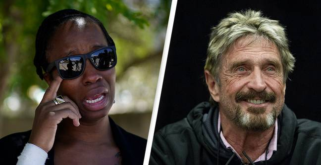 John McAfee's Wife Warns The Media Is 'Not To Be Trusted' As She Speaks Out On Her Late Husband's 'Suicide'