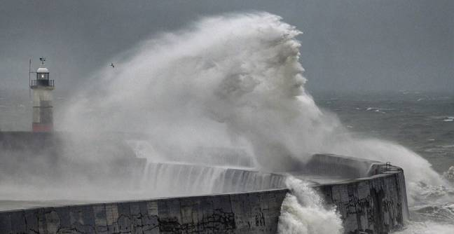 'Neptune' Appears In Waves During Storm In Incredible Photo