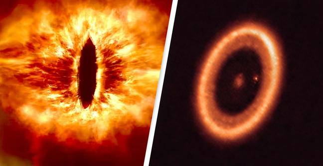 First Image Of Disk Around Alien Planet Compared To LOTR's Eye Of Sauron