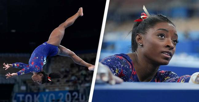Simone Biles Says She's 'OK' After Dropping Out Of Olympic Event