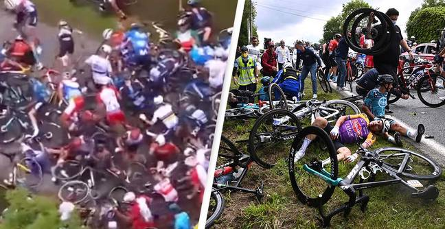 Spectator Who Caused Horror Crash At Tour De France Ordered To Go To Court