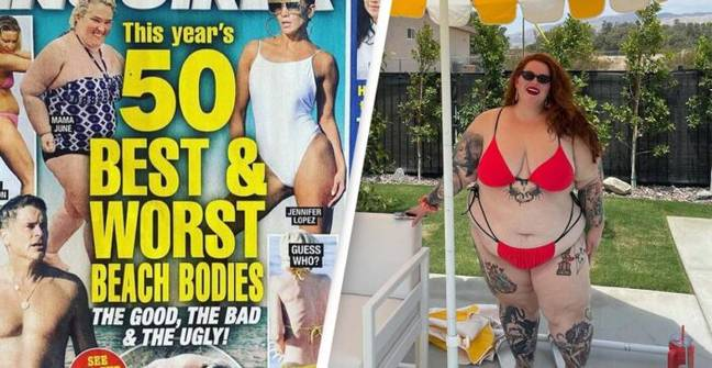 Tess Holliday Hits Out After Being Voted This Year's 'Worst Beach Body'
