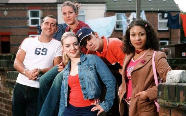'Two Pints Of Lager And A Packet Of Crisps' cast (BBC)