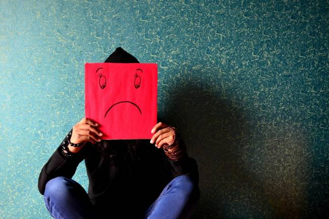 Record levels of stress and sadness were reported worldwide (Pixabay)