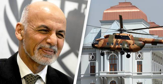 Afghan President Fled To Dubai In A Helicopter With $169 Million In Cash