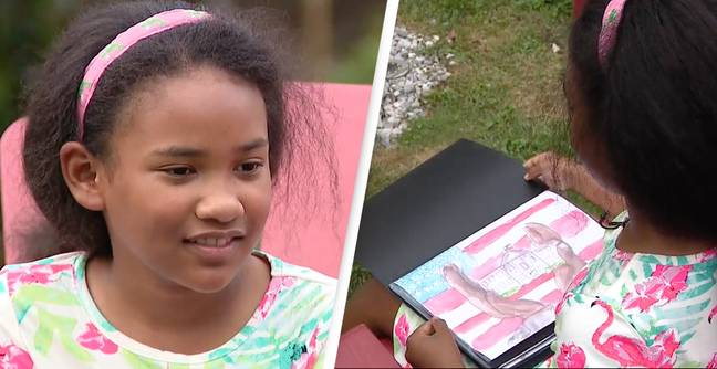 9 Year Old's Depiction Of Slavery Wins White House Art Competition