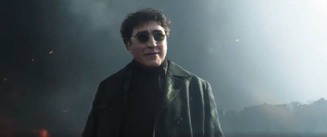Alfred Molina in Spider-Man: No Way Home. (Sony Pictures)