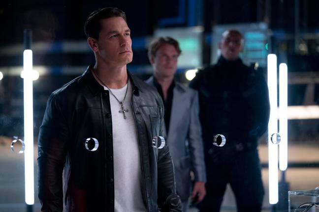 John Cena in F9. (Universal Pictures)