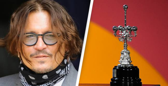 Controversy Sparked After Johnny Depp Receives Award