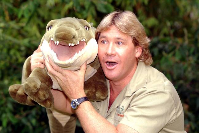 Aussie adventurer Steve Irwin, aka The Crocodile Hunter during a photocall at London Zoo to promote his new movie The Crocodile Hunter. -Myung Jung Kim/PA Archive/PA Images