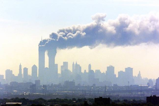 Airspace was closed during the 9/11 attacks. (PA Images)