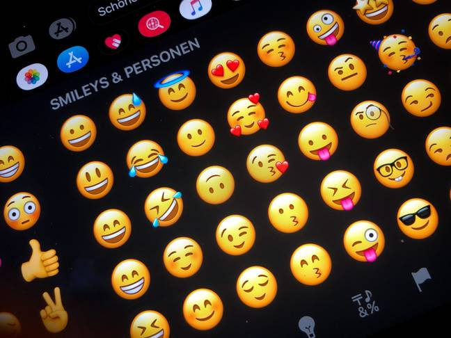 Younger people use emojis more ironically, a report says. (PA Images)