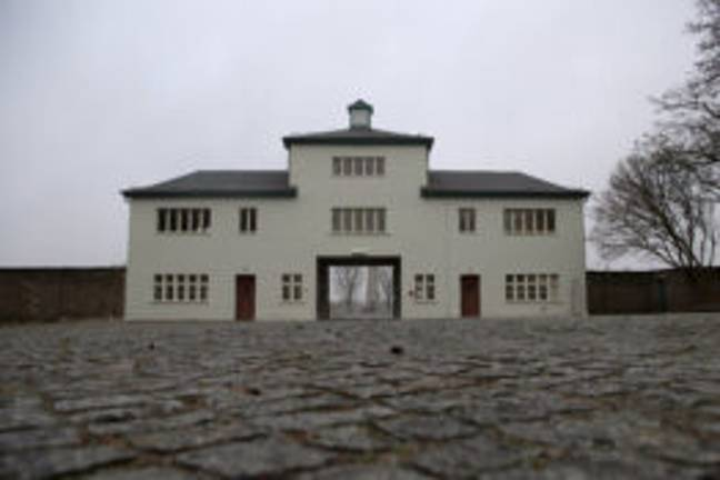 Entrance to the Sachsenhausen memorial (PA Images)