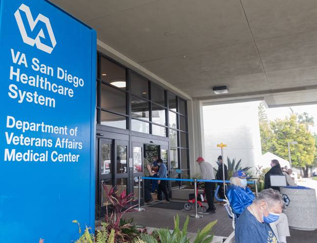 San Diego health centre (PA Images)