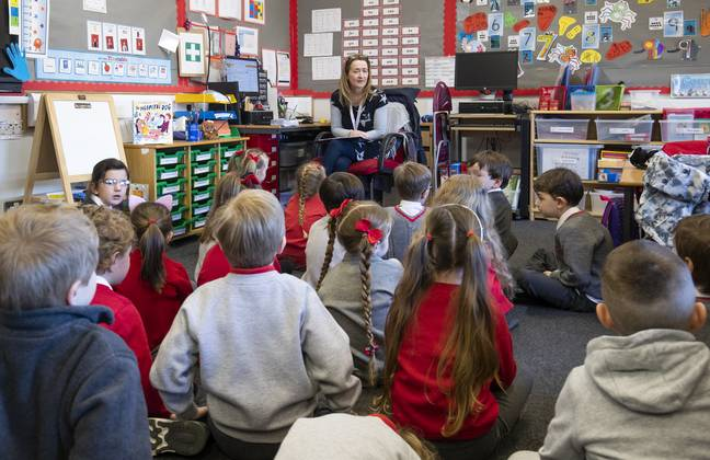 The guidance applies to children as young as four. (PA Images)